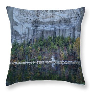 Stone Mountain - 2 Throw Pillow
