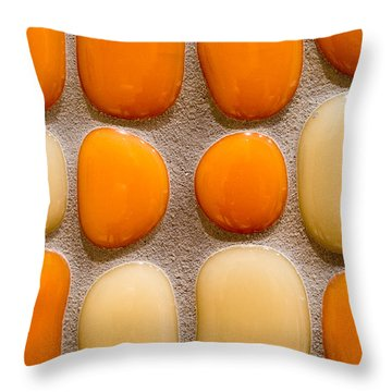 Stone Yolks Throw Pillow