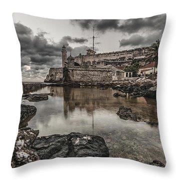 Stoned Morro Throw Pillow