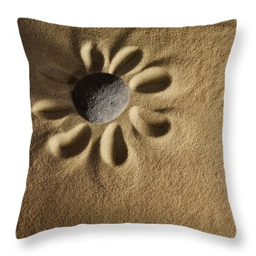 Stoneflower Throw Pillow