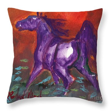Stoneflur Cool Fire Throw Pillow