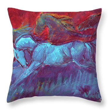 Stoneflur Fun Run Throw Pillow