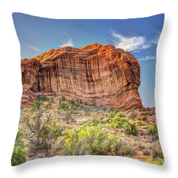 Stones Of The West Throw Pillow