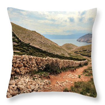 Stonewall Throw Pillow by Davorin Mance