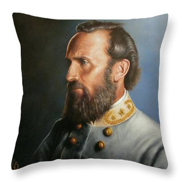 Stonewall Jackson Throw Pillow