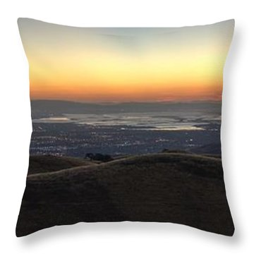 Stop. Look. Enjoy. Throw Pillow