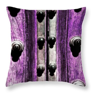 Stories Of Doors Throw Pillow