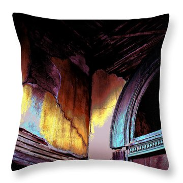 Stories Untold  Throw Pillow by Lin Haring