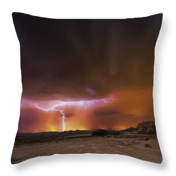 Thunder Throw Pillows