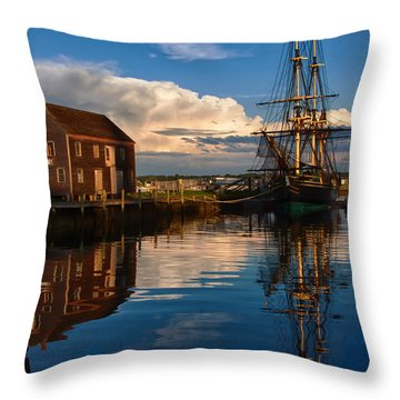 Storm Clearing Friendship Throw Pillow by Jeff Folger
