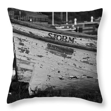 Storm Craft Throw Pillow
