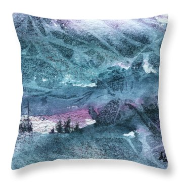 Storm II Throw Pillow