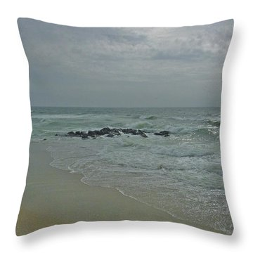 Storm In May Throw Pillow