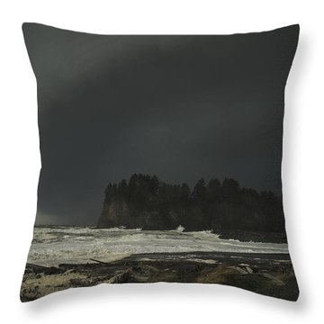 Storm Is Coming North West Wa Throw Pillow