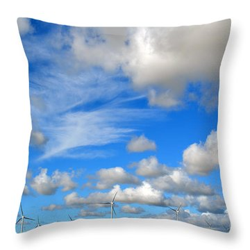 Storm Is Over Throw Pillow