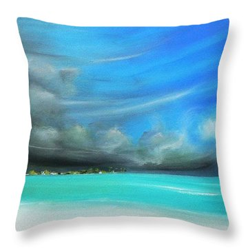 Storm On The Move Throw Pillow