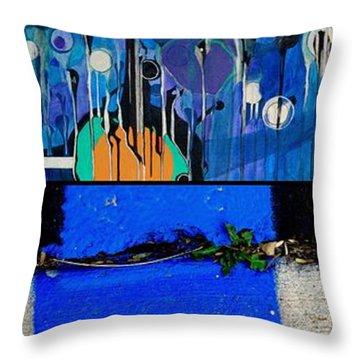 Storm Shudders Throw Pillow
