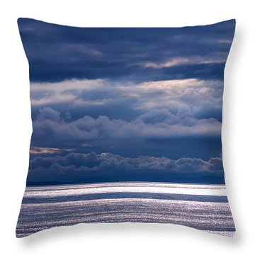 Throw Pillow featuring the photograph Storm Supremacy by Jordan Blackstone