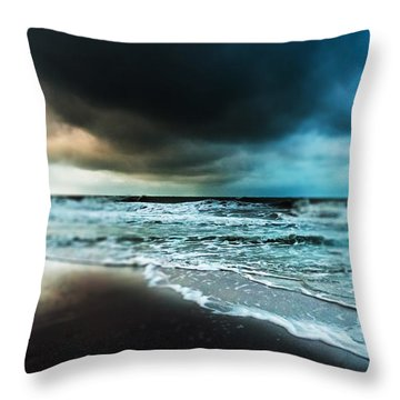 Storm Tilt Throw Pillow