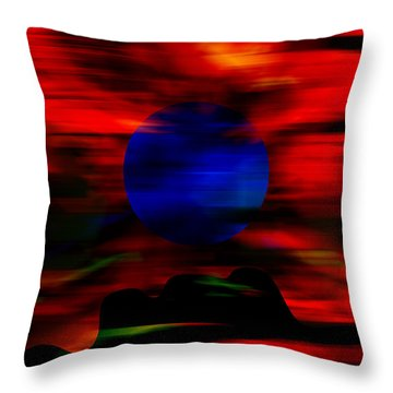 Storm Watch Throw Pillow by Marvin Blaine