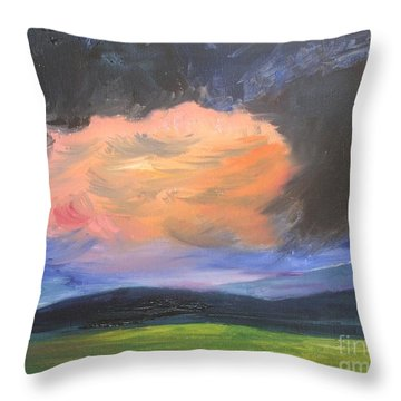 Stormchaser Throw Pillow by PainterArtist FIN