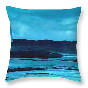 Storm's Brewing Throw Pillow by Sophia Schmierer