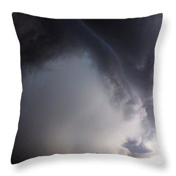 Storms Fury Award Winner Throw Pillow