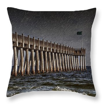 Stormscape Throw Pillow by Sennie Pierson