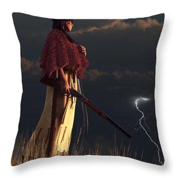 Stormwatcher Throw Pillow