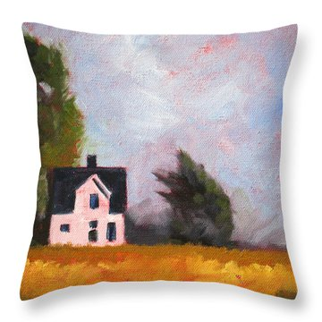 Stormy Afternoon Throw Pillow