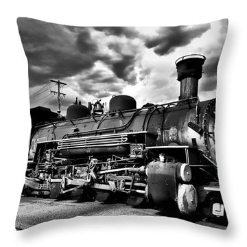 Stormy Arrival Throw Pillow