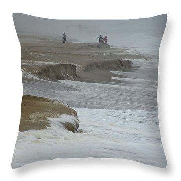 Stormy Day Throw Pillow by Kim Bemis