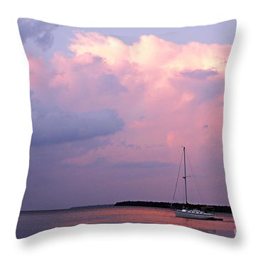 Stormy Seas Ahead Throw Pillow