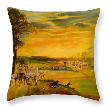 Story Throw Pillow