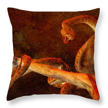 Story Of Eve Throw Pillow