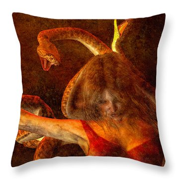 Throw Pillow featuring the photograph Story Of Eve by Bob Orsillo