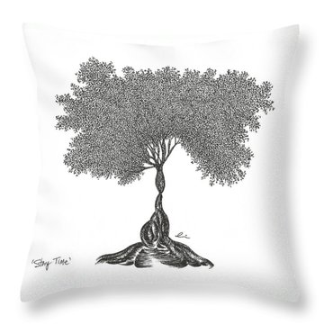 Story Time 2013 Throw Pillow