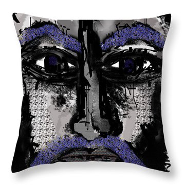 Story To Tell  Throw Pillow by Sladjana Lazarevic