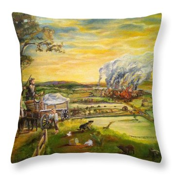 Story2 Throw Pillow