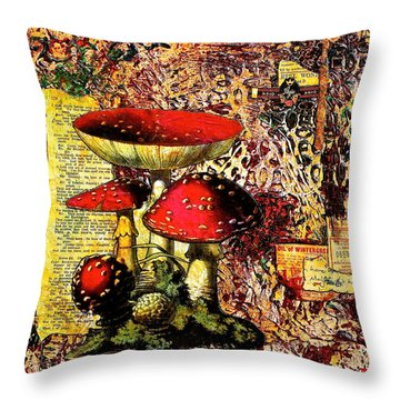 Storytime Throw Pillow by Bellesouth Studio