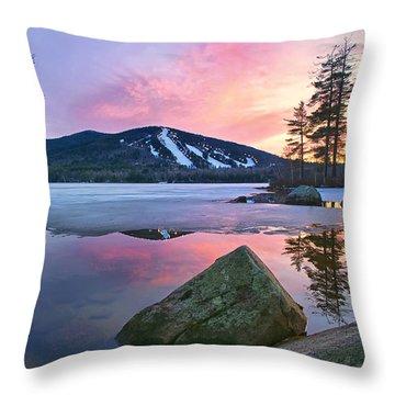 St.patty's Day Sunset Throw Pillow