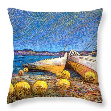 Stranded - Bar Road Throw Pillow