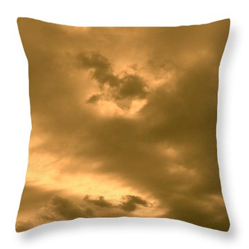 Strange Atmosphere Throw Pillow
