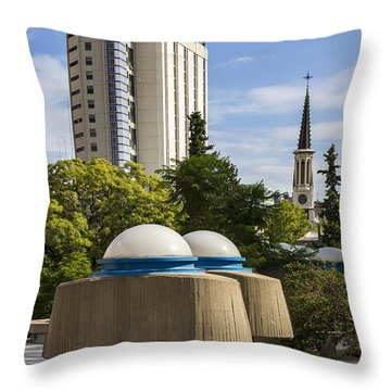 Strange Buenos Aires Architecture Throw Pillow by For Ninety One Days
