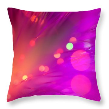 Strange Condition Throw Pillow