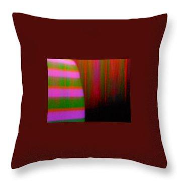 Strange Days Indeed Throw Pillow