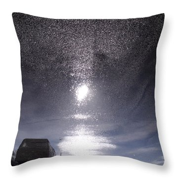 Throw Pillow featuring the photograph Strange Universe by Lyric Lucas