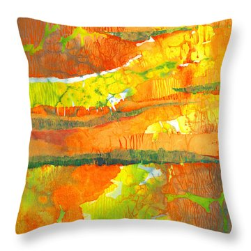 Strata Throw Pillow