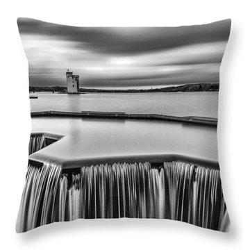 Strathclyde Park Scotland Throw Pillow by John Farnan