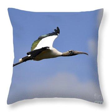 Stratostork Throw Pillow by Al Powell Photography USA